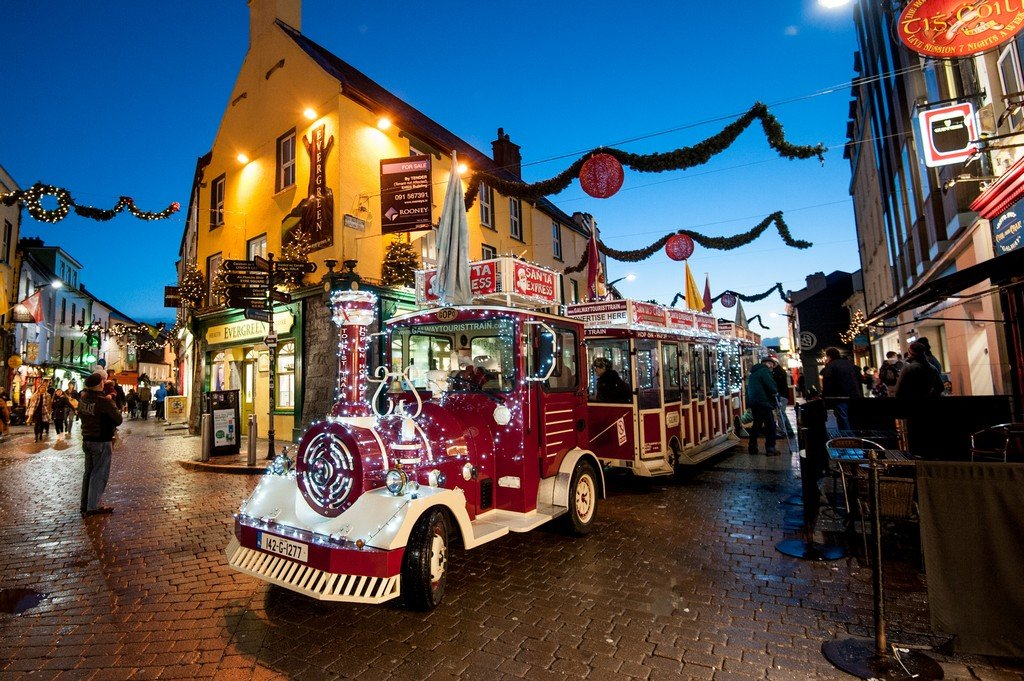 Christmas Train in Galway